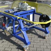 Przewijarka do bębnów kablowych TYP PKM-800