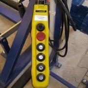 Przewijarka do bębnów kablowych TYP PK-01/E